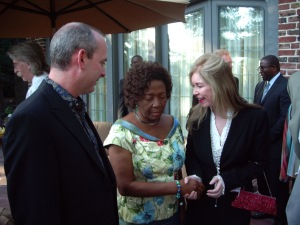 Consul Biggs Sparkuhl Meets First Lady of Ghana