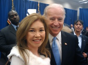 Consul Biggs Sparkuhl with Vice President Joe Biden